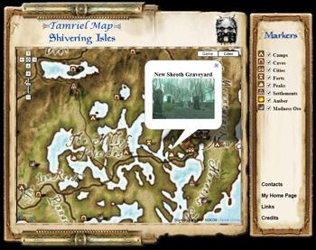 Oblivion Map Website